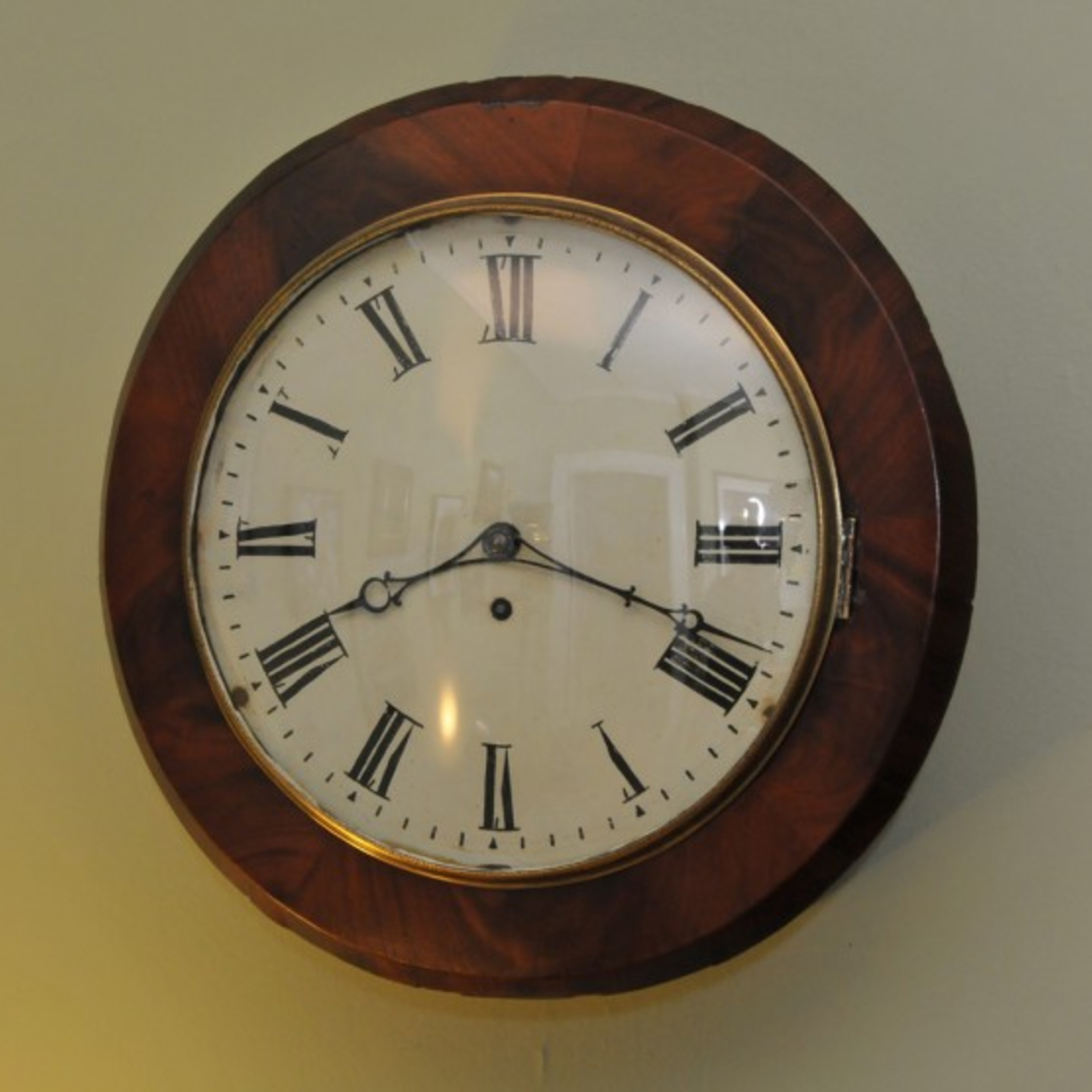 English Fusee Wall Clock, Circa: 1890-1905