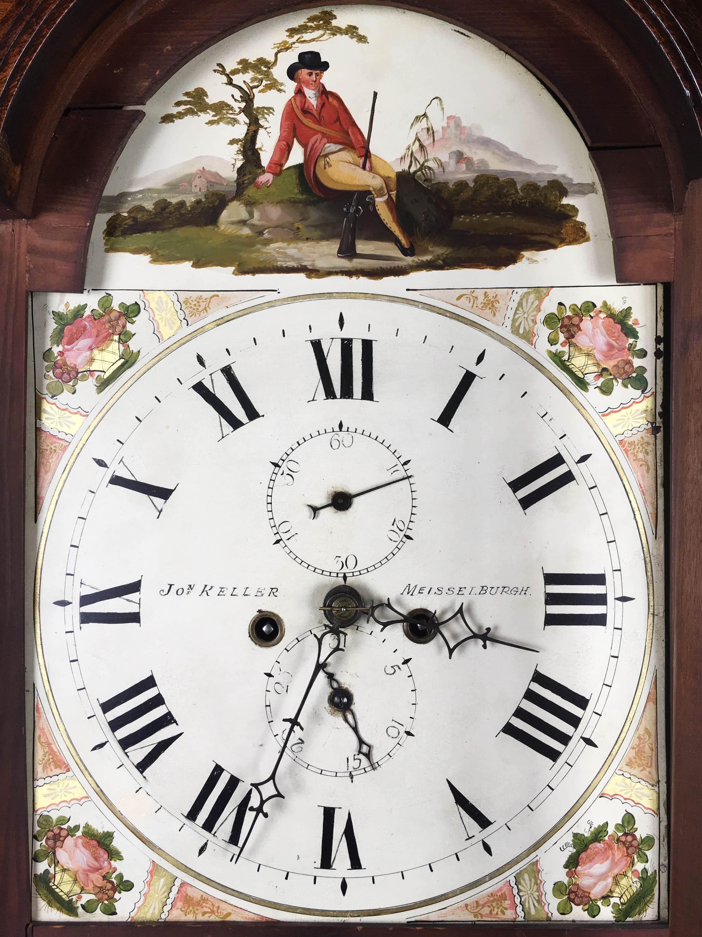 Jon Keller Tall Case Clock, Scotland