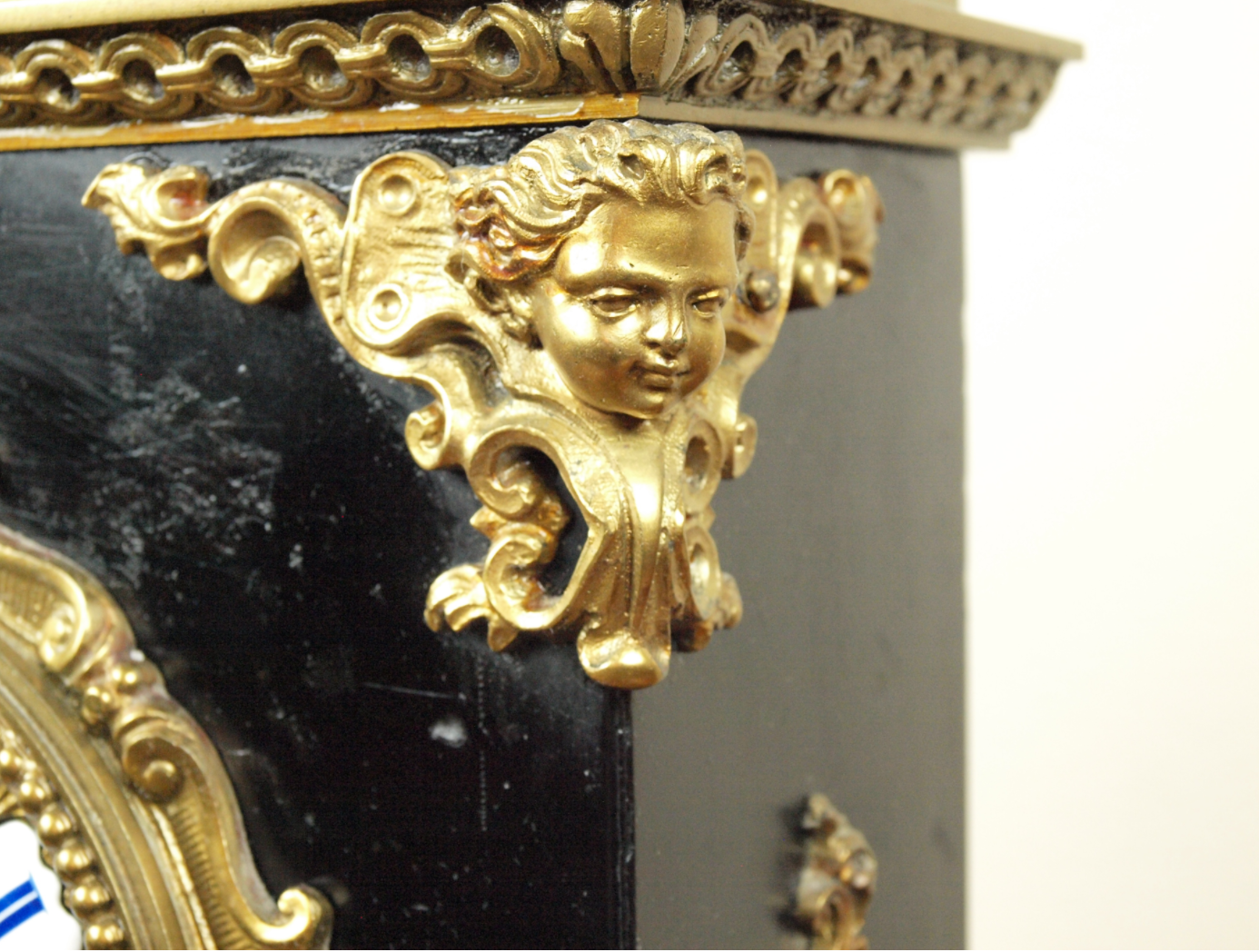 French Mantel with Urn Topper, 1830