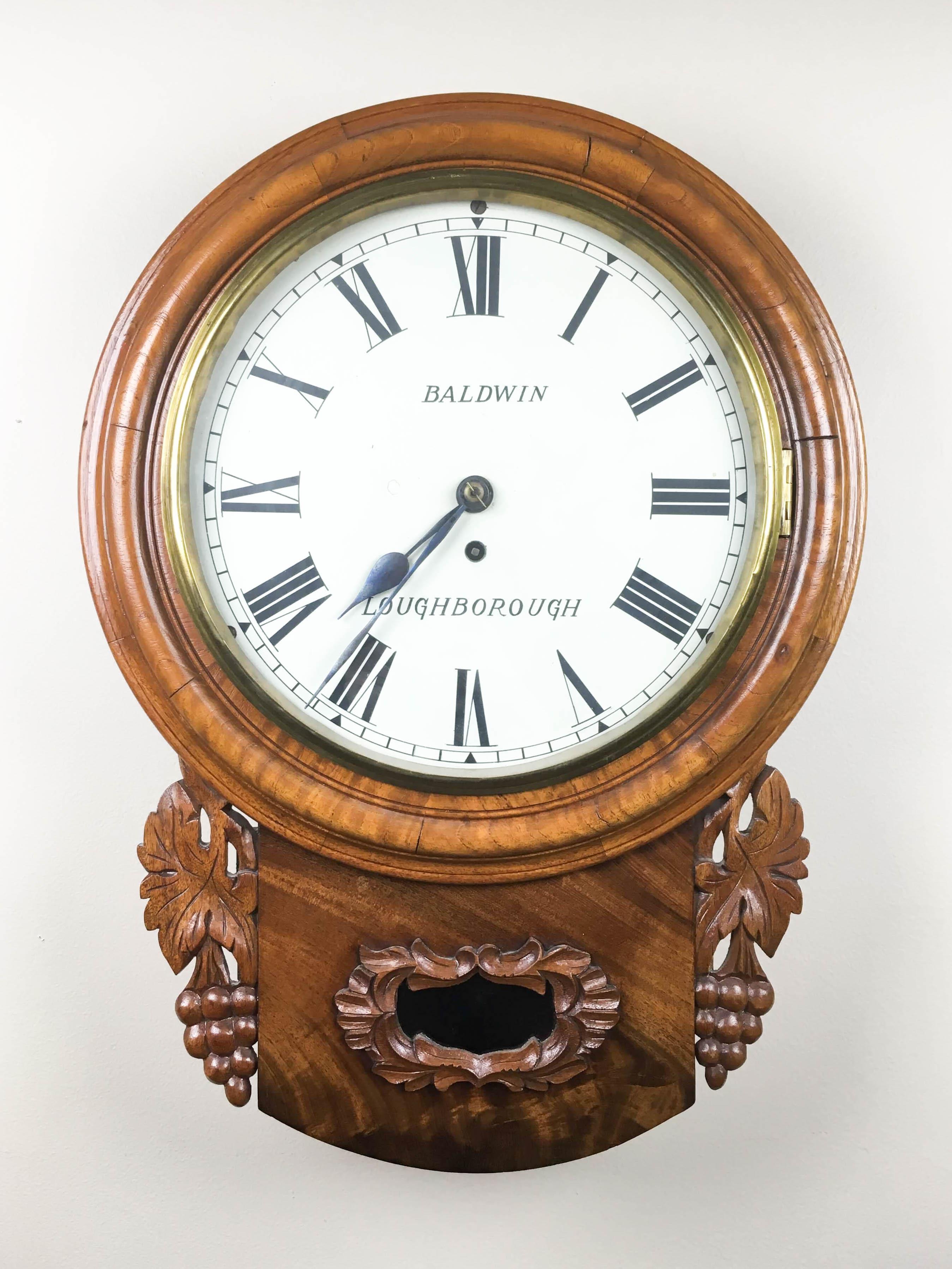 Baldwin Gallery Clock, England