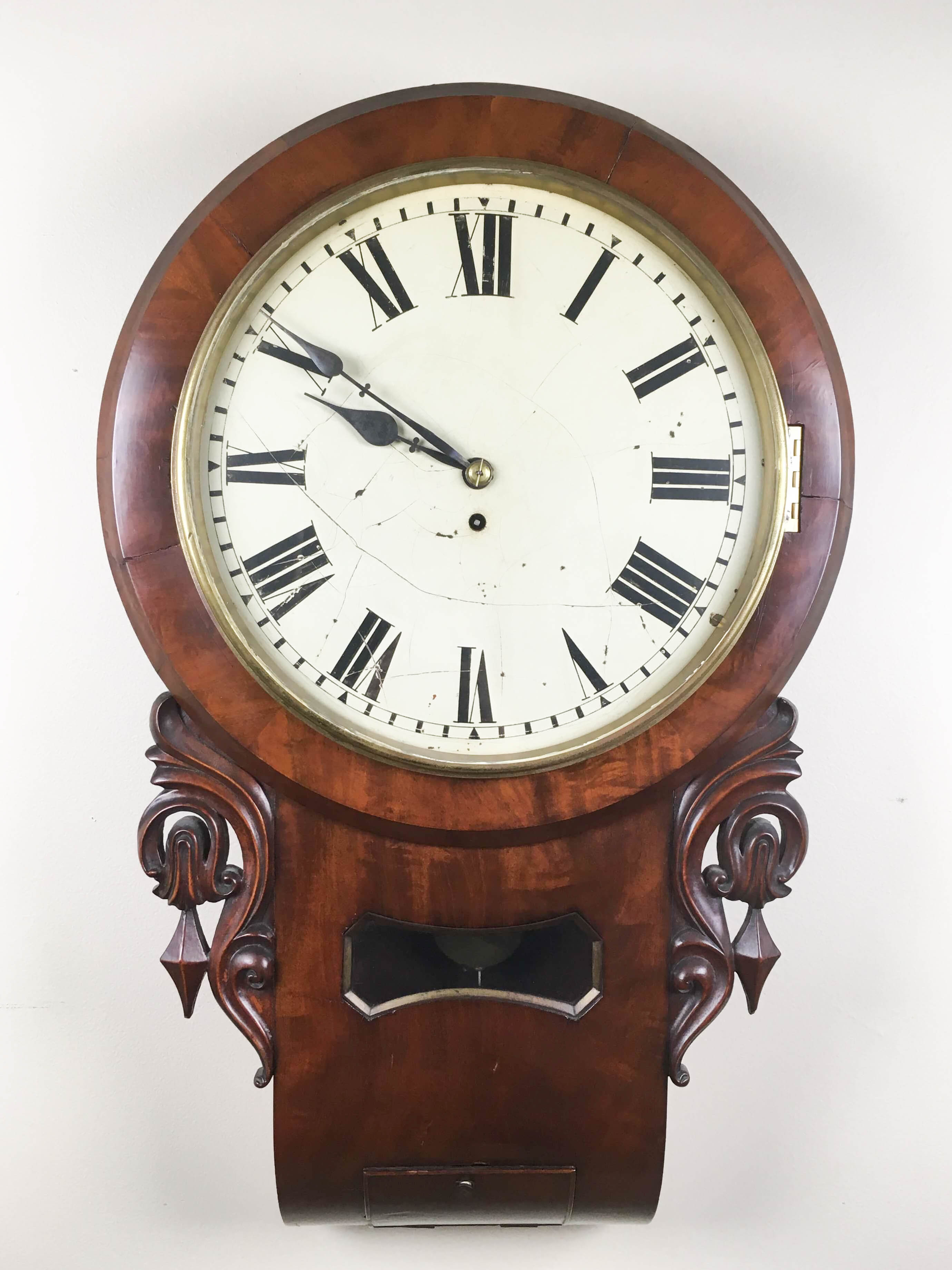 Long Drop Gallery Clock, England